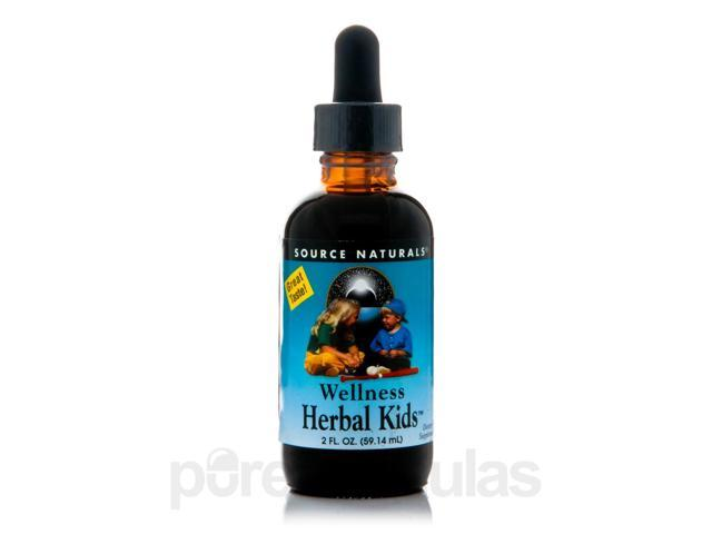 Wellness Herbal Kids - 2 fl. oz (59.14 ml) by Source Naturals