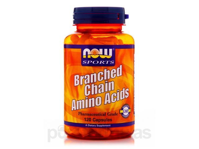 NOW Sports - Branched Chain Amino Acids - 120 Capsules by NOW