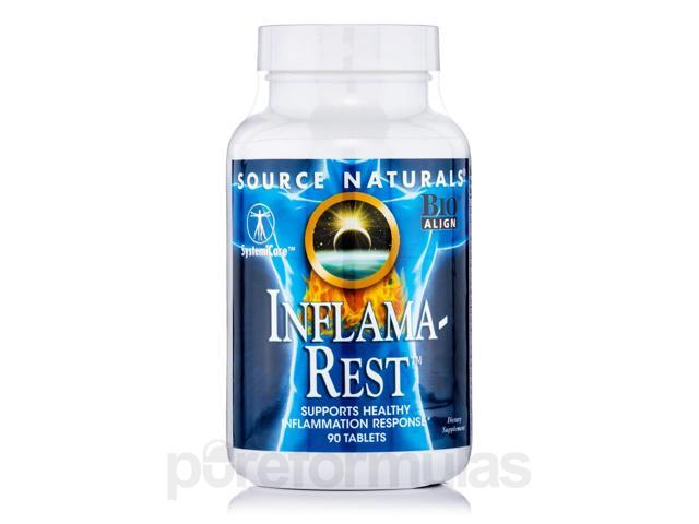 Inflama-Rest - 90 Tablets by Source Naturals