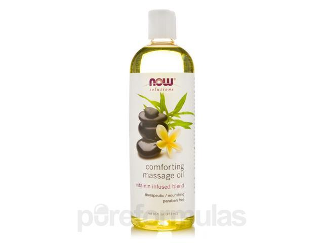 NOW Solutions - Comforting Massage Oil - 16 fl. oz (473 ml) by NOW