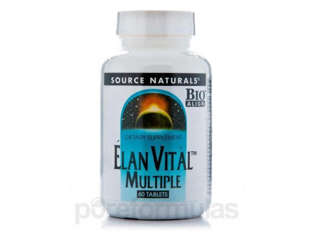 Elan Vital - 60 Tablets by Source Naturals