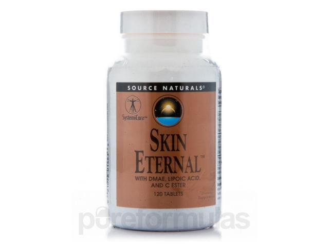 Skin Eternal - 120 Tablets by Source Naturals