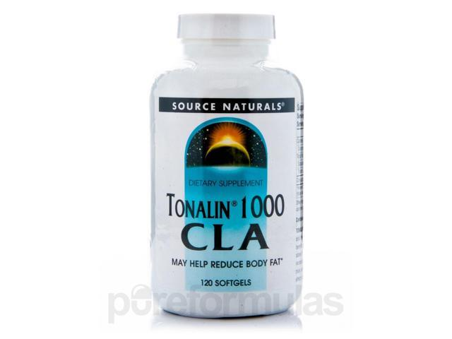 Tonalin 1000 CLA - 120 Softgels by Source Naturals