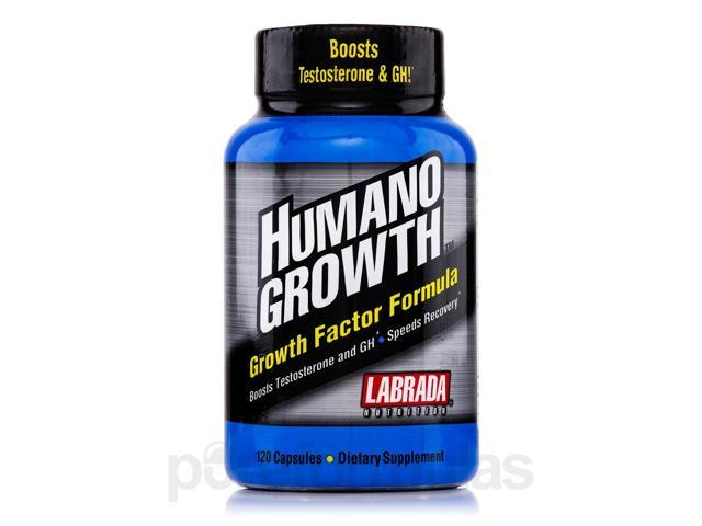 HumanoGrowth - 120 Capsules by Labrada Nutrition