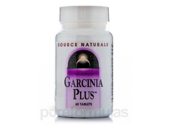 Garcinia Plus - 60 Tablets by Source Naturals
