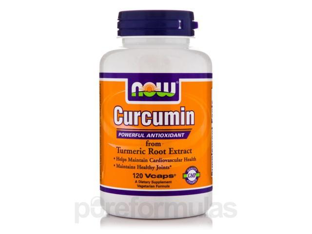 Curcumin - 120 Vegetarian Capsules by NOW