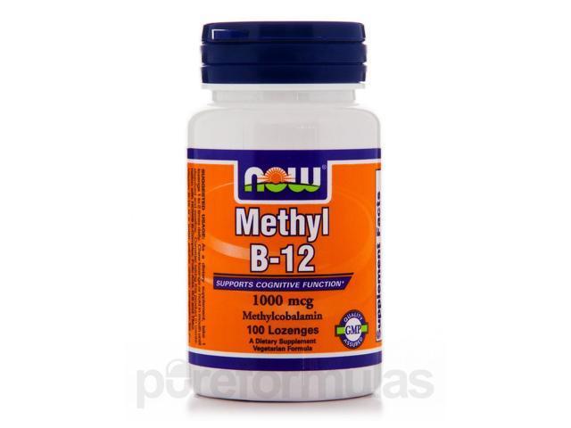 Methyl B-12 1000 mcg - 100 Lozenges by NOW