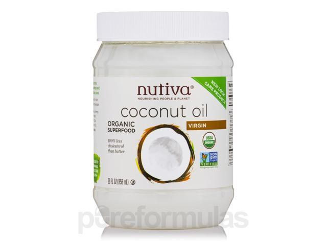 Organic Virgin Coconut Oil - 29 fl. oz (858 ml) by Nutiva