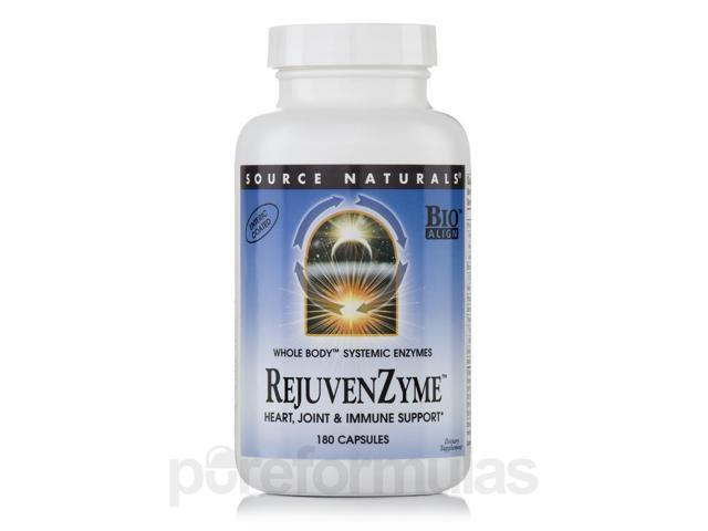 Rejuvenzyme - 180 Capsules by Source Naturals