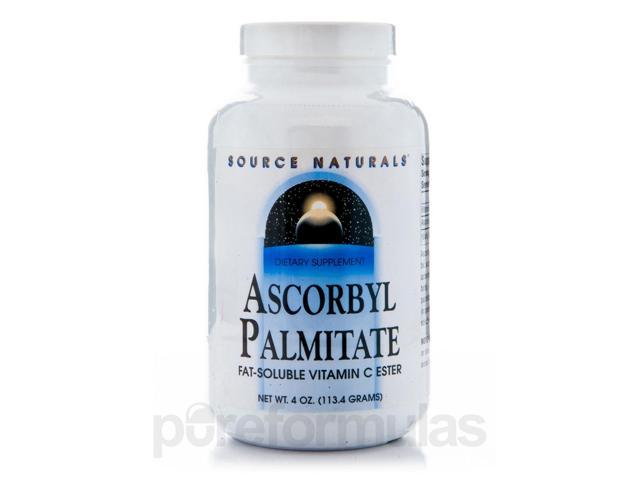 Ascorbyl Palmitate Powder - 4 oz (113.4 Grams) by Source Naturals