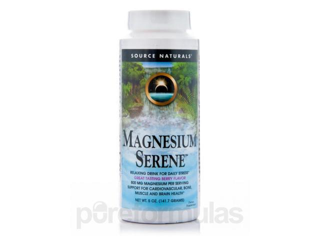 Magnesium Serene Berry - 5 oz (141.7 Grams) by Source Naturals