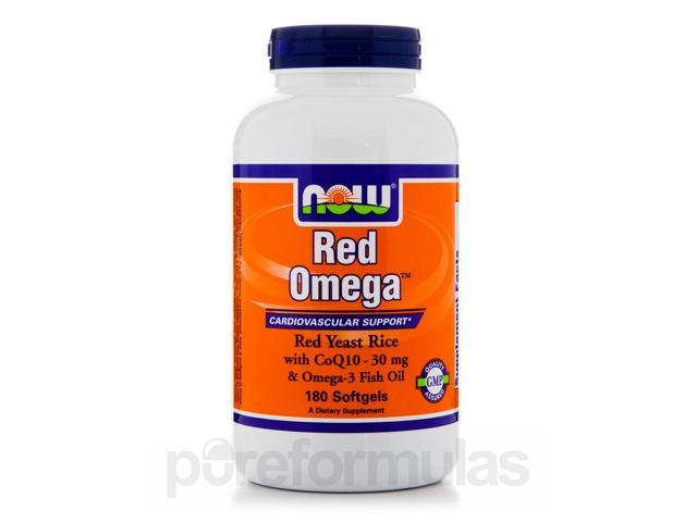 Red Omega - 180 Softgels by NOW