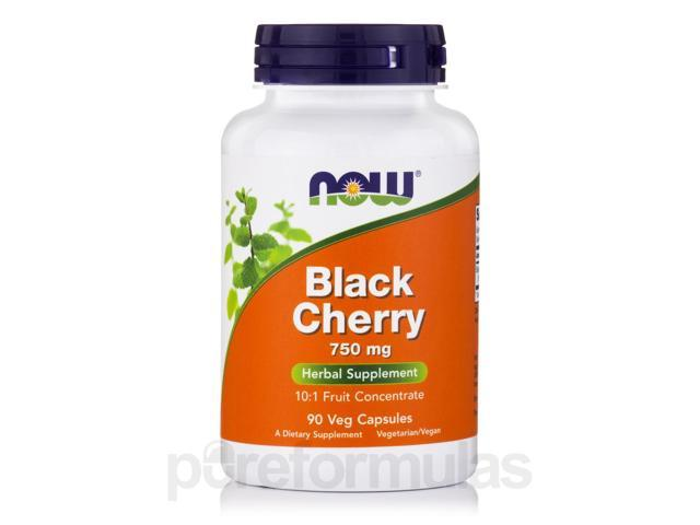 Black Cherry Fruit Extract 750 mg - 90 Vegetarian Capsules by NOW