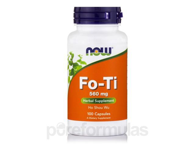 Fo-Ti 560 mg - 100 Capsules by NOW