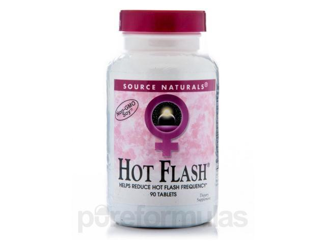Hot Flash - 90 Tablets by Source Naturals