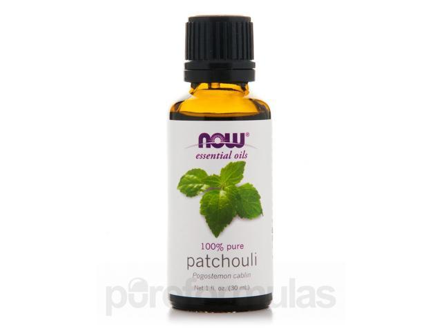 NOW Essential Oils - Patchouli Oil - 1 fl. oz (30 ml) by NOW