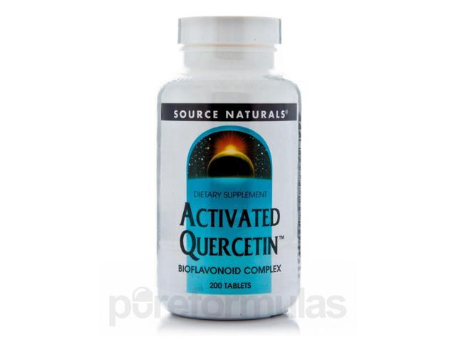 Activated Quercetin - 200 Tablets by Source Naturals