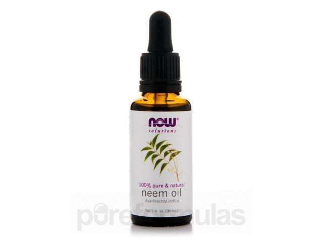NOW Solutions - Neem Oil - 1 fl. oz (30 ml) by NOW