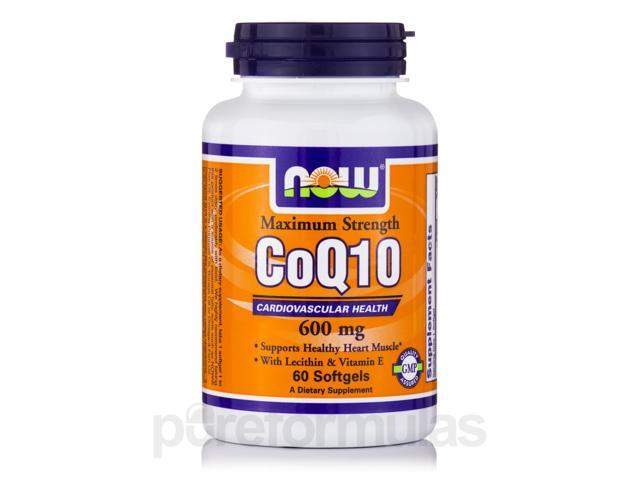 CoQ10 600 mg - 60 Softgels by NOW