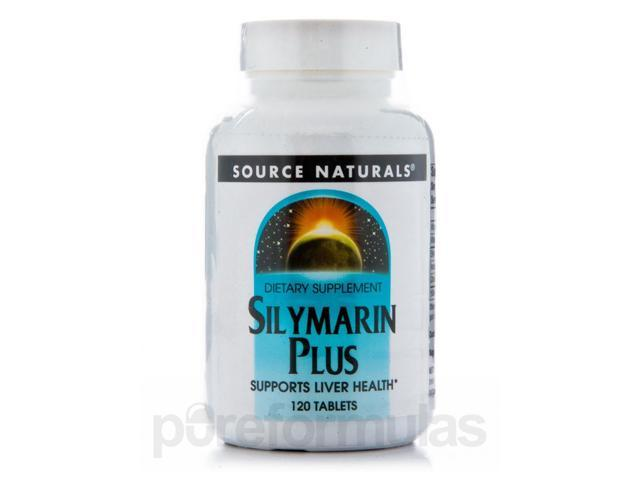 Silymarin Plus - 120 Tablets by Source Naturals