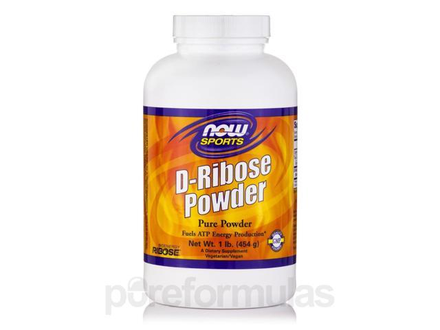 NOW? Sports - D-Ribose Pure Powder - 1 lb (454 Grams) by NOW