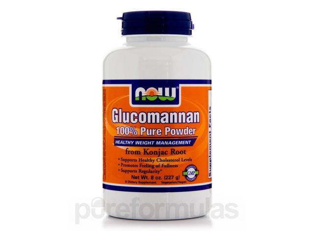 Glucomannan 100% Pure Powder - 8 oz (227 Grams) by NOW
