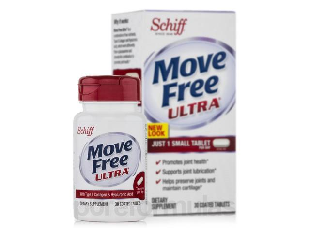 Move Free Ultra with UCII - 30 Coated Tablets by Schiff