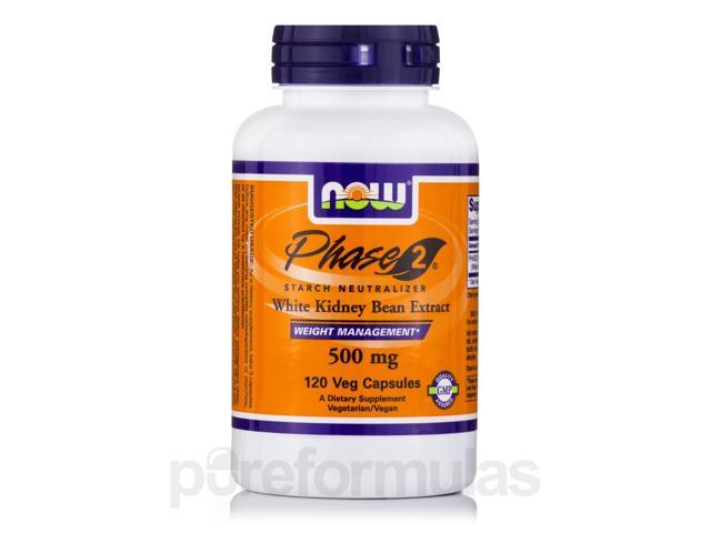 Phase-2 500 mg - 120 Veg Capsules by NOW