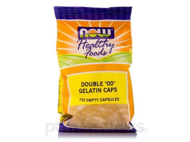 Gel Caps '00' - 750 Capsules by NOW