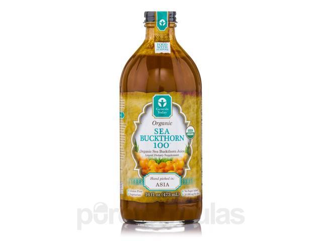Organic Sea Buckthorn 100 - 16 fl. oz (473 ml) by Genesis Today