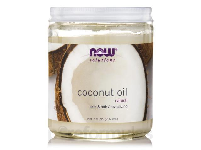 NOW Solutions - Coconut Oil - 7 fl. oz (207 ml) by NOW