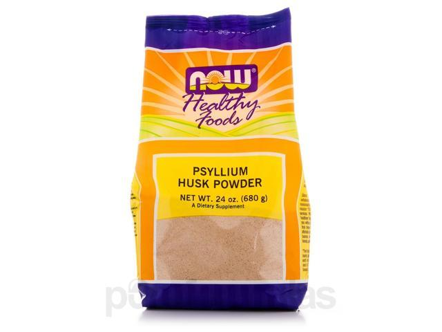 Psyllium Husk Powder - 24 oz (680 Grams) by NOW