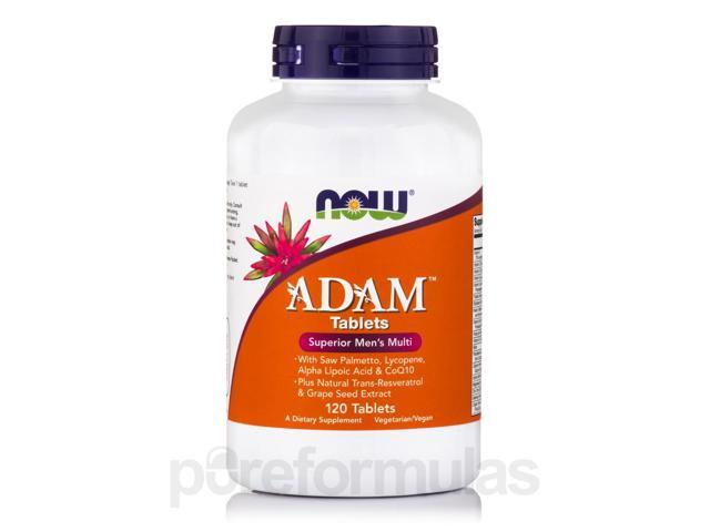 ADAM - 120 Tablets by NOW