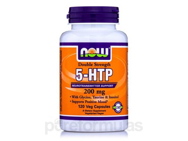 5-HTP 200 mg - 120 Vegetarian Capsules by NOW