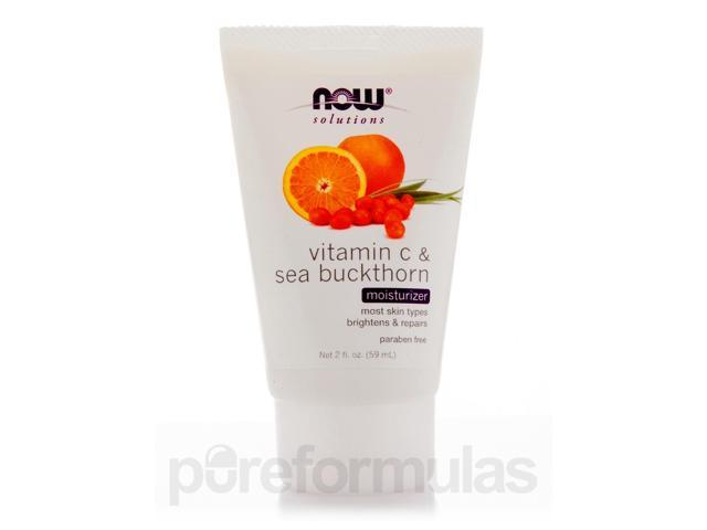 NOW Solutions - Vitamin C & Sea Buckthorn Moisturizer - 2 fl. oz (59 ml) by NOW