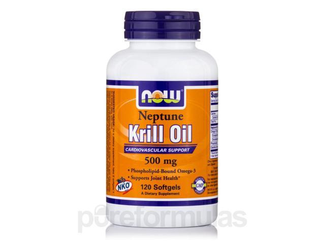 Neptune Krill Oil 500 mg - 120 Softgels by NOW