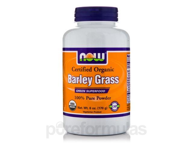 Barley Grass (100% Pure Powder) - 6 oz (170 Grams) by NOW