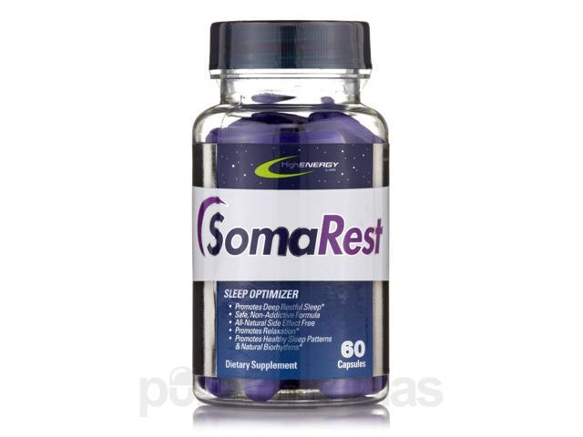 Somarest - 60 Capsules by High Energy Labs