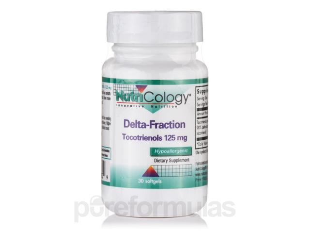 Delta-Fraction Tocotrienols 125 mg - 30 Softgels by NutriCology