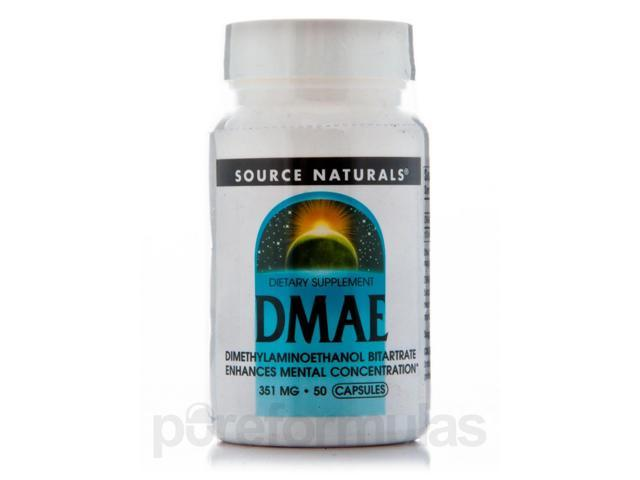 DMAE Caps 351 mg - 50 Capsules by Source Naturals