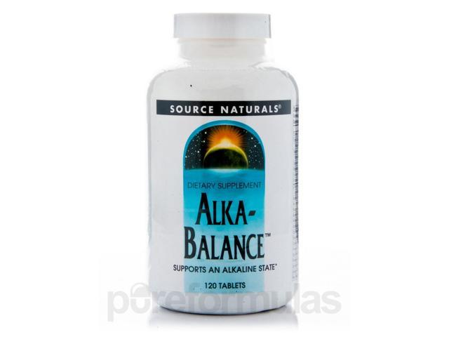 Alka - Balance - 120 Tablets by Source Naturals