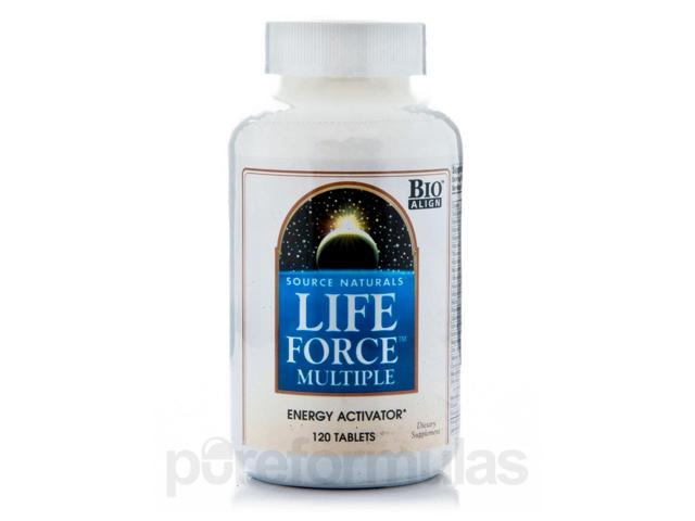 Life Force Multiple - 120 Tablets by Source Naturals