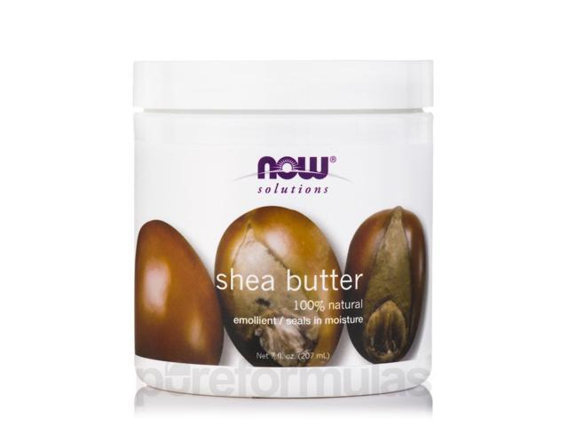 NOW Solutions - Shea Butter (Natural) - 7 fl. oz (207 ml) by NOW