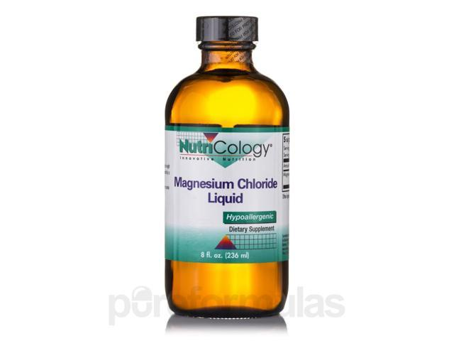 Magnesium Chloride Liquid - 8 fl. oz (236 ml) by NutriCology