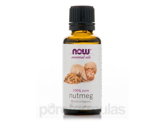 NOW Essential Oils - Nutmeg Oil (100% Pure) - 1 fl. oz (30 ml) by NOW