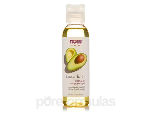 NOW Solutions - Avocado Oil - 4 fl. oz (118 ml) by NOW