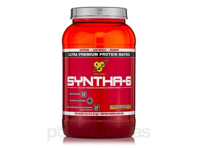Syntha-6 Ultra-Premium Lean Muscle Protein Powder Chocolate Peanut Butter - 2.91