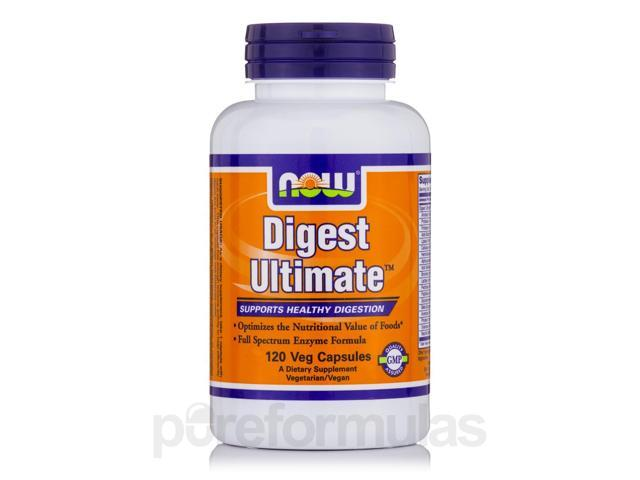 Digest Ultimate - 120 Vegetarian Capsules by NOW
