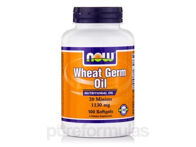 Wheat Germ Oil 20 Minims - 100 Softgels by NOW