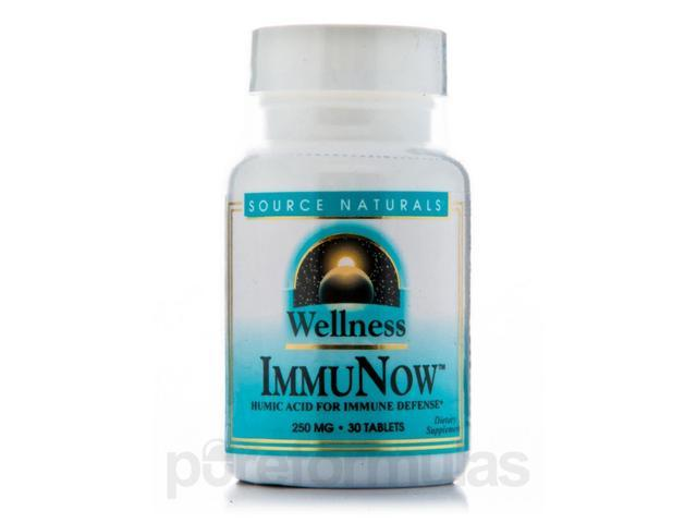 Wellness Immunow 250 mg - 30 Tablets by Source Naturals